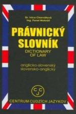 Anglicko-slovenský slovensko-anglický právnický slovník
