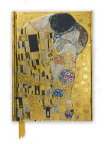 Gustav Klimt: The Kiss (Foiled Journal)