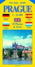 City map - guide PRAGUE 1:16 000 (angličtina, němčina, ruština, španělština, holandština)
