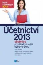 Účetnictví 2013, učebnice pro SŠ a VOŠ