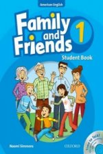 Family and Friends American Edition: 1: Student Book & Student CD Pack