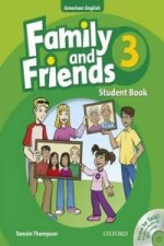 Family and Friends American Edition: 3: Student Book & Student CD Pack