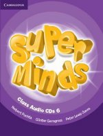 Super Minds Level 6 Class CDs (4)