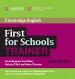 First for Schools Trainer Audio CDs