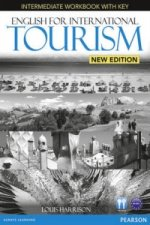 English for International Tourism Intermediate New Edition Workbook with Key and Audio CD Pack