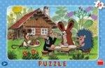 Puzzle Krtek na návštěvě