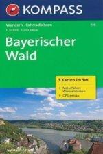 Kompass Karte Bayerischer Wald, 3 Bl.