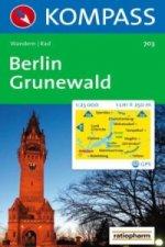 BERLIN-GRUNEWALD 1:25 000