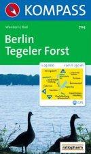Berlin,Tegeler Forst 704 / 1:25T NKOM