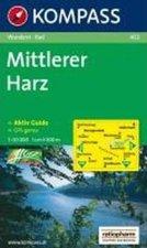 MITTLERER HARZ 1:50 000