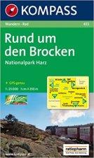 RUND UM DEN BROCKEN-NATIONALPARK HARZ 1:25 000
