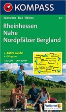 Rheinhessen,Nahe,Nordpfälzer,Bergland 831 / 1:50T NKOM