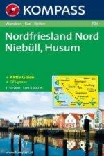 NORDFRIESLAND NORD NIEBÜLL, HUSUM 1:50 000