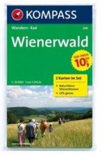 Wienerwald 208 ,2 mapy / 1:25T NKOM