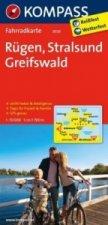 KOMPASS Fahrradkarte Rügen - Stralsund - Greifswald