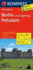 KOMPASS Fahrradkarte Berlin und Umgebung - Potsdam
