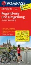 Kompass Fahrradkarte Regensburg und Umgebung