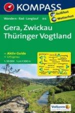 Gera,Zwickau Thüringer Vogtland 816 1:50T NKOM