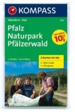 Pfalz Naturpark Pfälzerwald 826 , 2 mapy / 1:50T NKOM