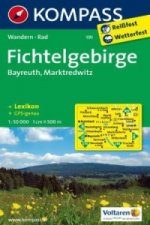 KOMPASS Wanderkarte Fichtelgebirge - Bayreuth - Marktredwitz