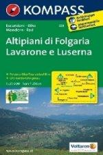 Altipiani di folgaria,Lavarone 631 / 1:25T NKOM