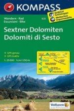 Sextner Dolomiten 625 / 1:25T NKOM