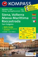 Siena,Volterra,Massa Marittima 2462 / 1:50T NKOM