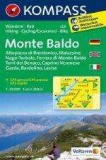 Kompass Karte Monte Baldo