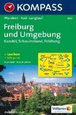 Kompass Karte Freiburg und Umgebung