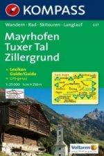 Mayrhofen,Tuxer Tal 037 / 1:25T KOM