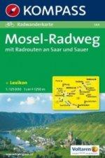 MOSEL-RADWEG 1:125 000