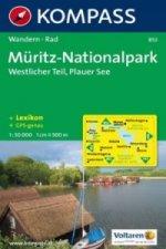 Kompass Karte Müritz-Nationalpark, Westlicher Teil, Plauer See