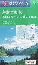 Adamello,Val di Fumo,Val Genova 638 / 1:25T NKOM