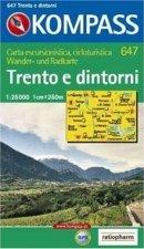 Trento e dintorni 647 / 1:25T KOM