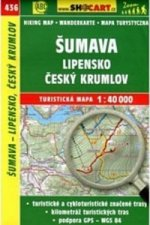 TM 1:40T 436 Šumava Lipensko Český Krumlov Shocart