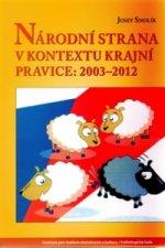 NÁRODNÍ STRANA V KONTEXTU KRAJNÍ PRAVICE 2003-2012