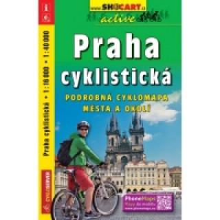 Praha cyklistická 1:18 000/1:40 000