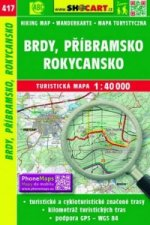 Brdy, Příbramsko, Rokycansko 1:40 000