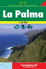 La Palma Hiking + Leisure Map 1:30 000