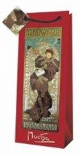 Alfons Mucha - dárková taška na lahev