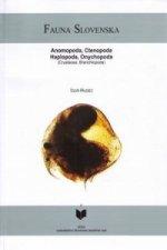 Fauna Slovenska -anomopoda, ctenopoda, haplopoda, onychopoda