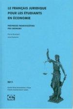Le Francais Juridique Pour Les Étudiants En Économie