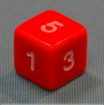 Dice - Numbers 1 - 6