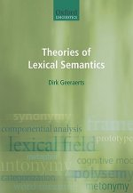Theories of Lexical Semantics