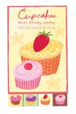 Cupcakes Mini Sticky Notes