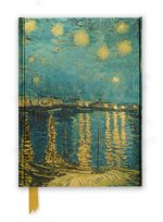Flame Tree Notebook (Van Gogh Starry Night Over the Rhone)