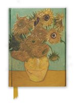 Van Gogh Sunflowers (Foiled Journal)