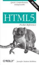 HTML5 Pocket Reference