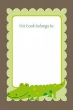 Green Croc Bookplate