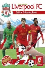 Official Liverpool FC Sticker Colouring Book